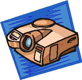 Projektor cliparts