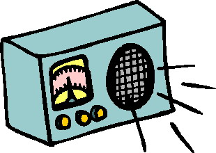 Radio cliparts
