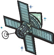 Satellit cliparts