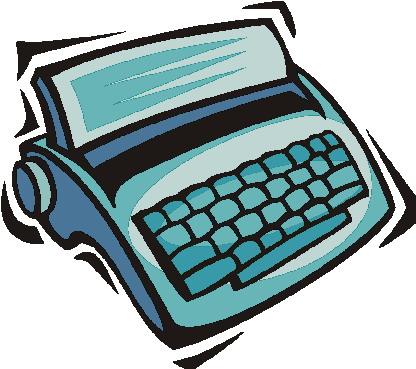 Schreibmaschine cliparts