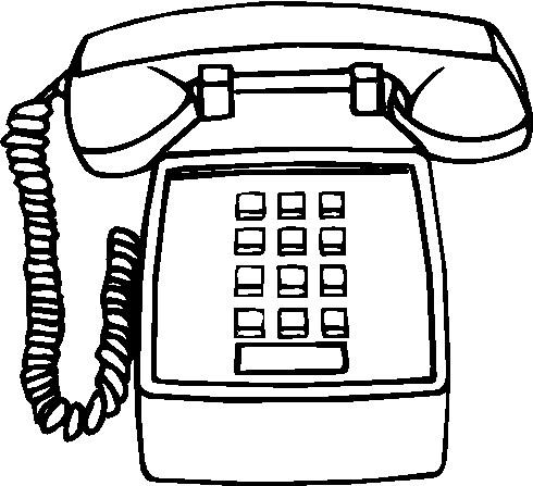 Clipart - Clipart telefoon animaatjes 456