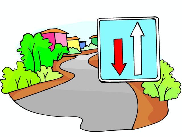 Verkehrszeichen cliparts