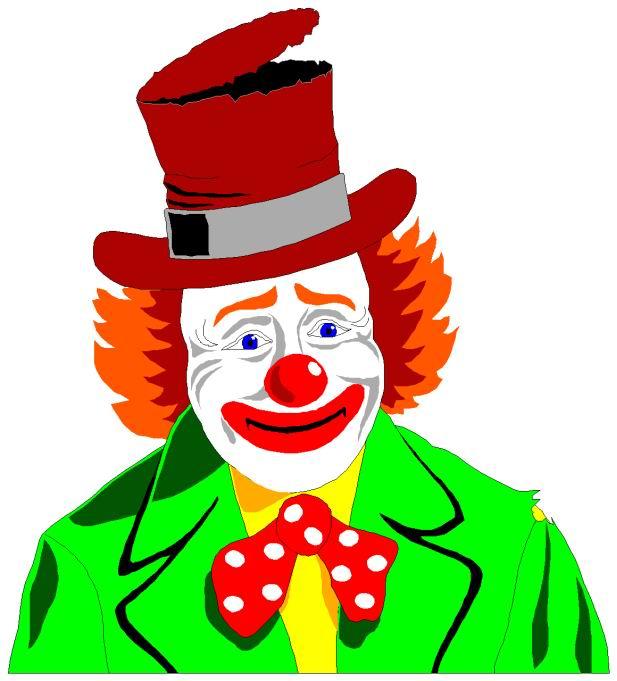 Clowns cliparts