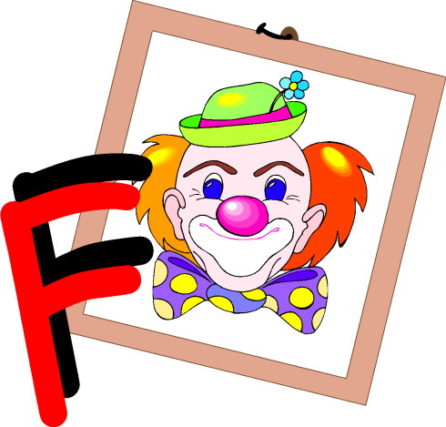 Clowns cliparts