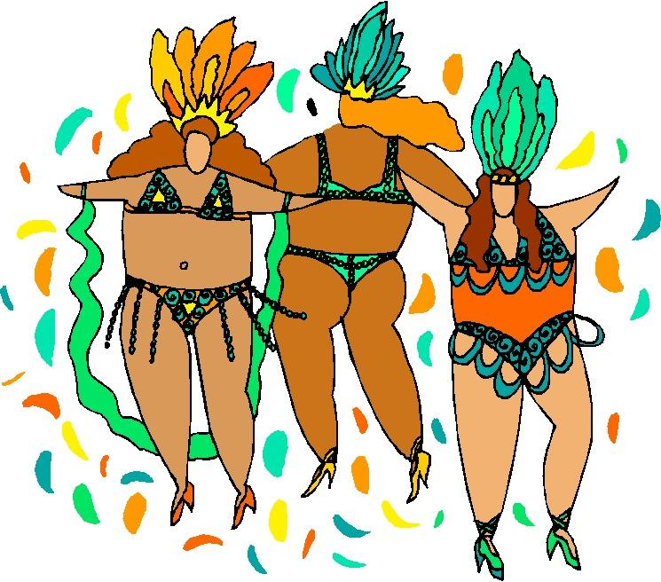 Karneval cliparts