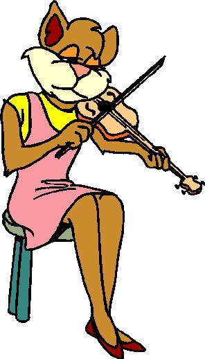 Musik tiere cliparts