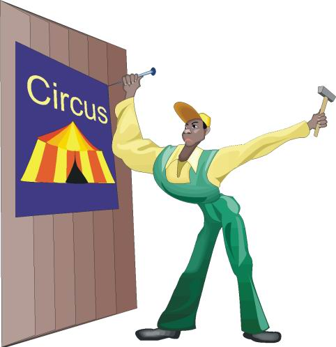 Zirkus cliparts