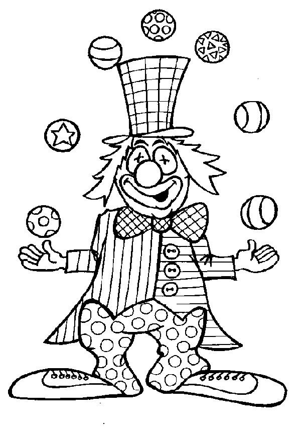 Clipart clipart circus animaatjes 264 - Dessin a calquer ...