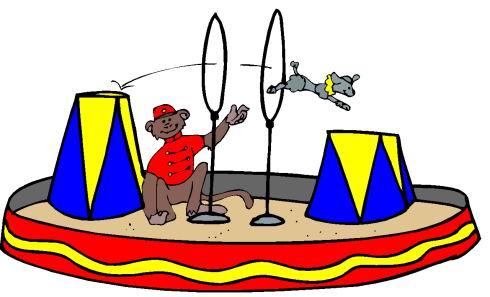 Zirkus cliparts