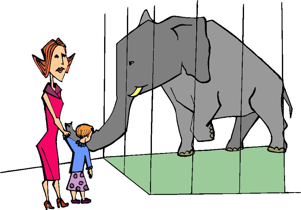 Zoo cliparts