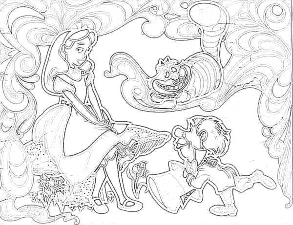 Alice im wunderland disney bilder