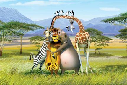 Madagascar disney bilder