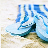 Flip flops icons bilder