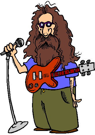 Rock star musik bilder