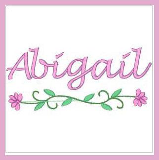 Abigail namen bilder