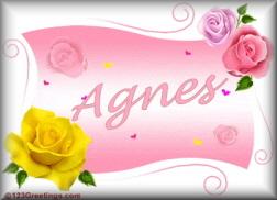 Agnes namen bilder