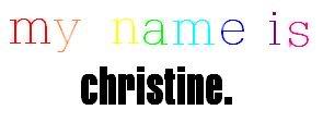 Christine namen bilder