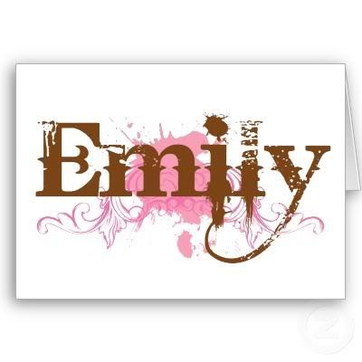 Emily namen bilder