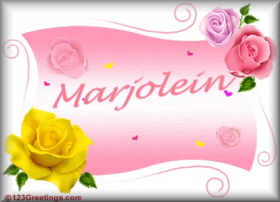 Marjolein namen bilder
