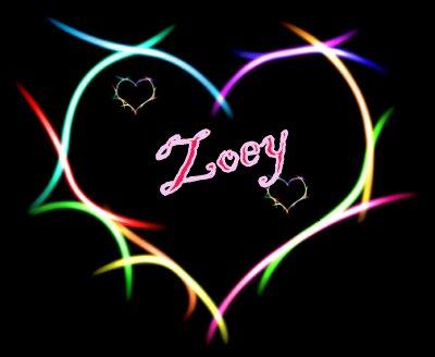 Zoey namen bilder