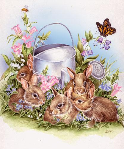 Kaninchen ostern bilder