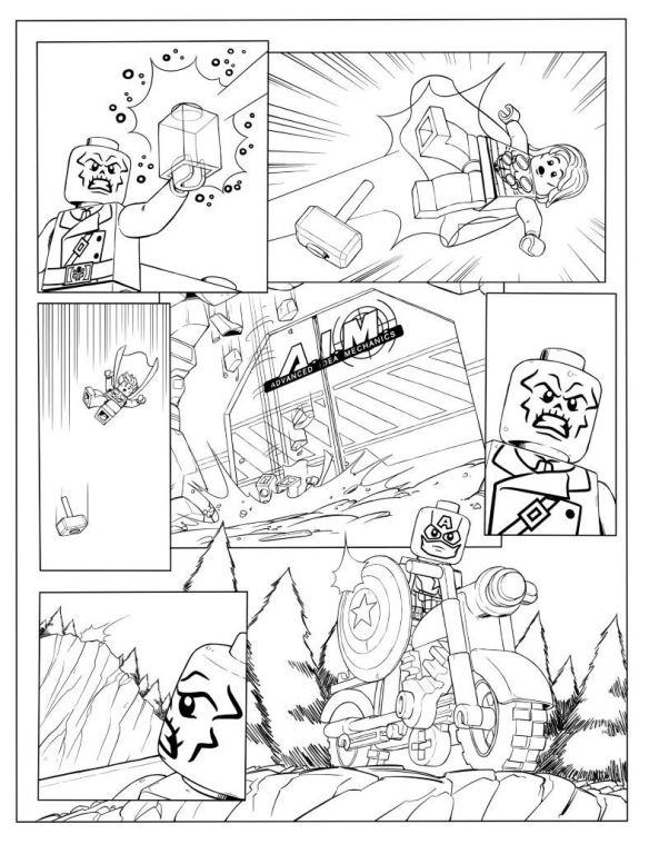 malvorlage  lego avengers ausmalbilder hwgkl