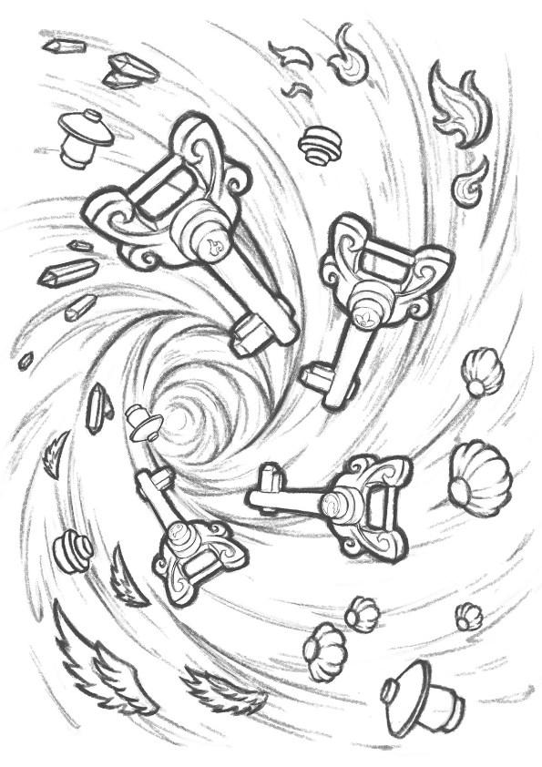 malvorlage  lego elves ausmalbilder rprg4