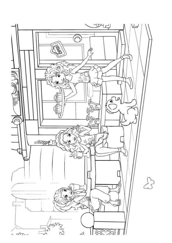 malvorlage  lego friends ausmalbilder bwfcc