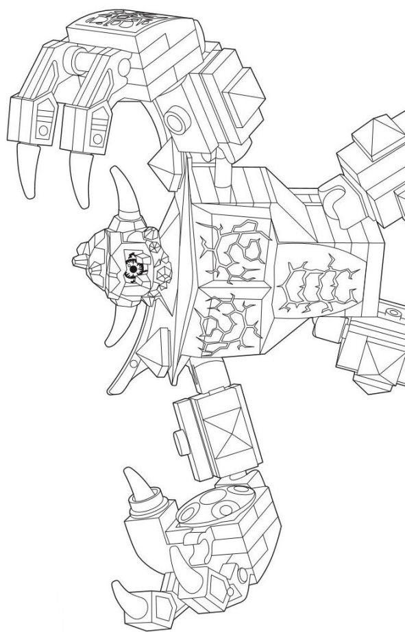 Malvorlage - Lego nexo knights ausmalbilder rujpg