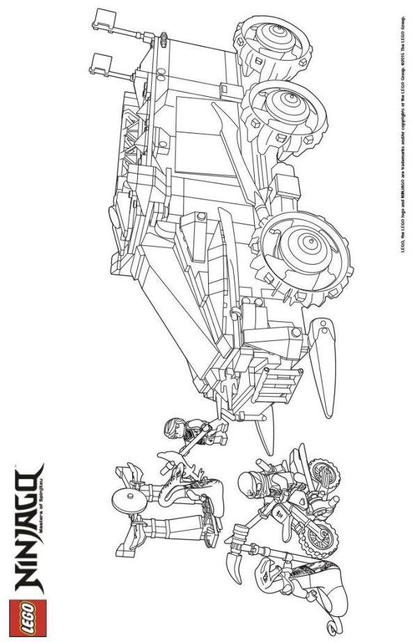 malvorlage  lego ninjago ausmalbilder xderi