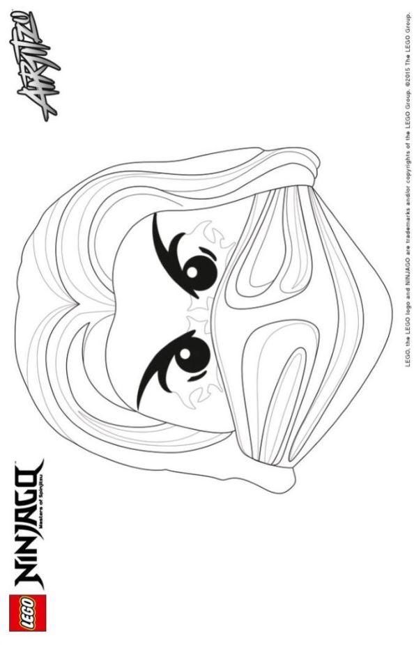 Ausmalbilder Ninjago Gesicht: Lego Ninjago Ausmalbilder Nhtjf