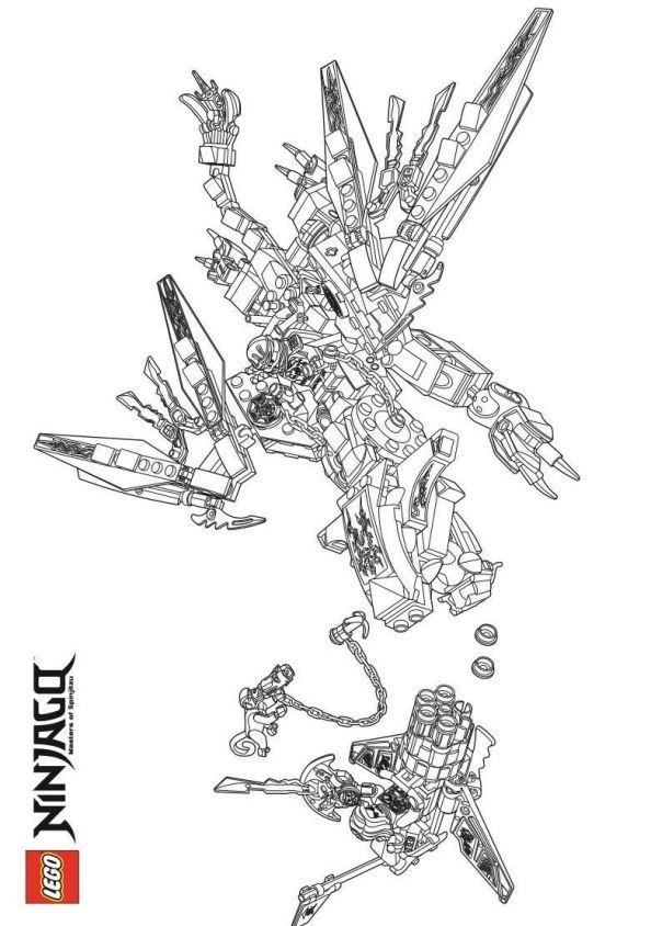 Krijgers Kleurplaat Malvorlage Lego Ninjago Ausmalbilder Wzlad