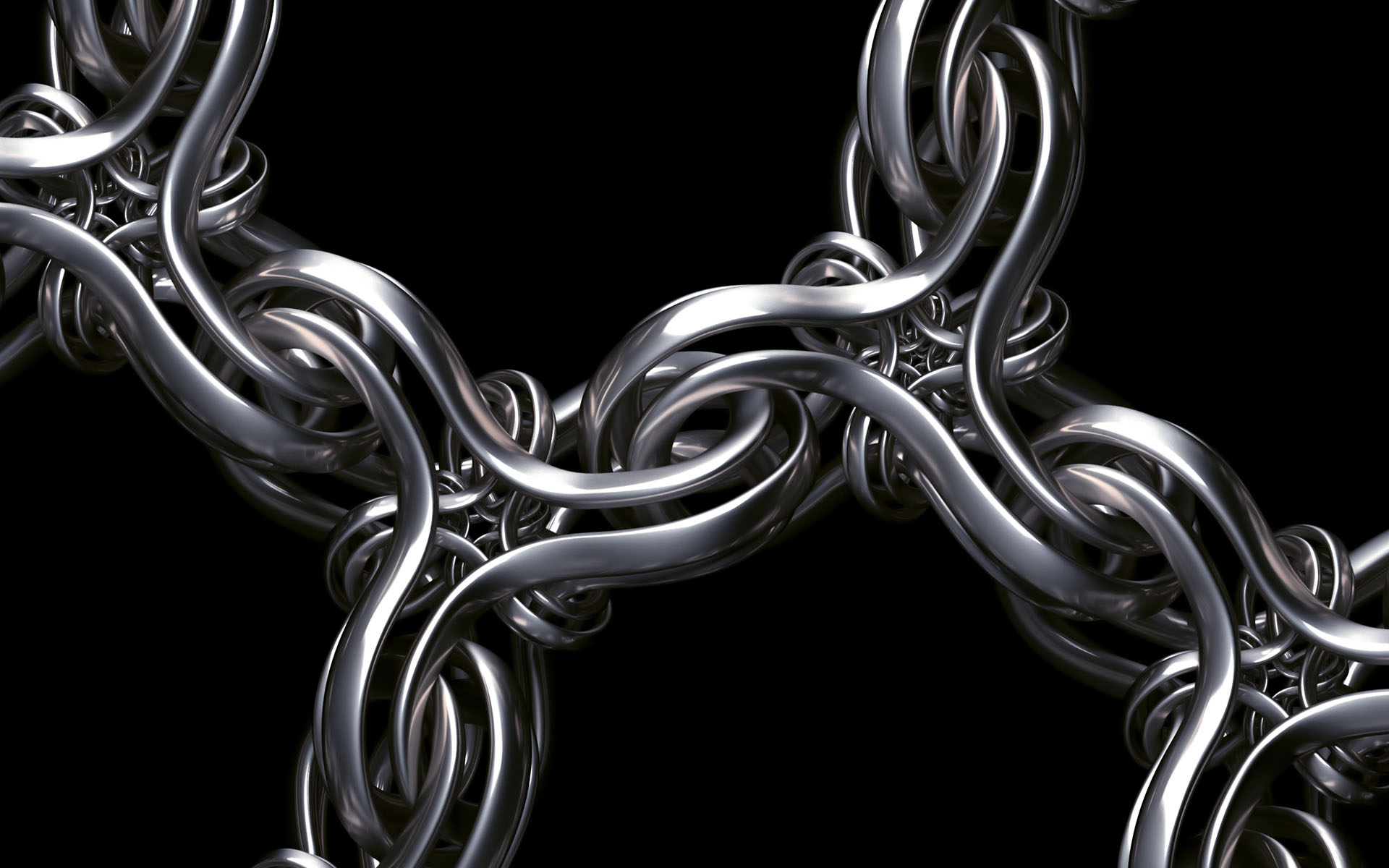 Wallpaper wallpaper abstract 3d animaatjes 35 for Black and silver 3d wallpaper