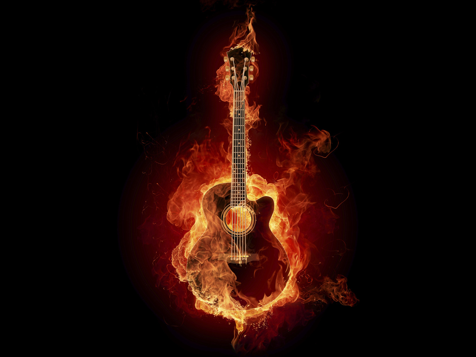 Wallpapers feuer effekte